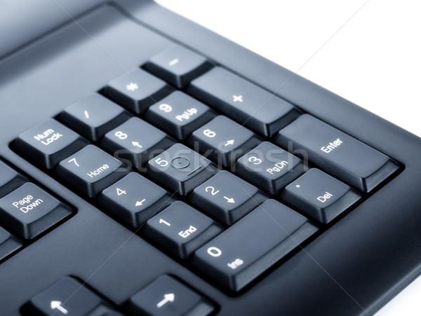 Numérico fundo chave preto foto branco Foto stock © PetrMalyshev