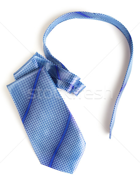 Blue Necktie Stock photo © PetrMalyshev