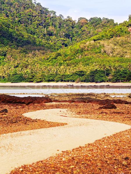 Rive faible marée plage Thaïlande soleil Photo stock © PetrMalyshev