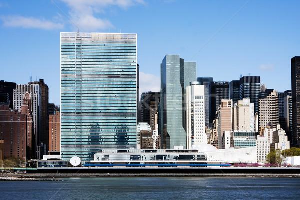 United Nations headquarters - New York City Stock photo © phakimata