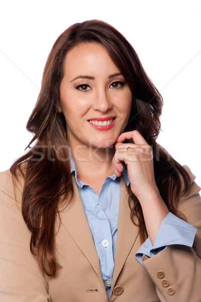 Corporate business woman Stock photo © phakimata