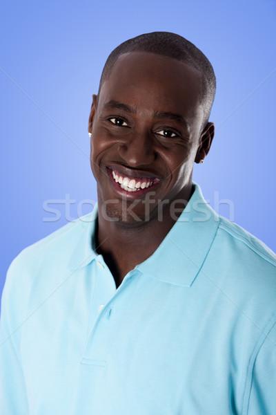 Heureux homme d'affaires visage élégant entreprise Photo stock © phakimata