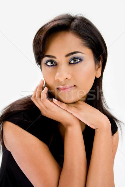 Beautiful Hindi woman Stock photo © phakimata