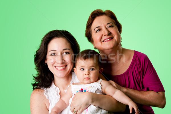 3 Generations of women Stock photo © phakimata