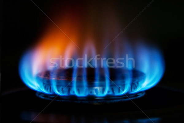 Сток-фото: печи · газ · огня · пламени · сжигание · горячей