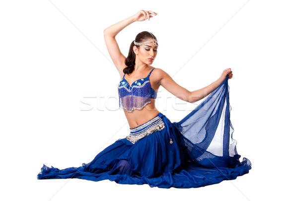 Сток-фото: живота · танцовщицы · сидят · красивой · израильский · египетский