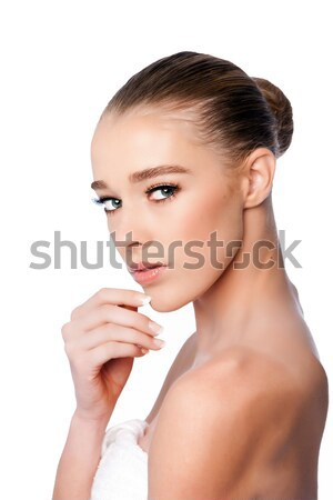 Stock photo: Beauty female face