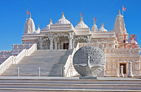 Tempel marmer religieuze plaats aanbidden gebouw Stockfoto © phakimata