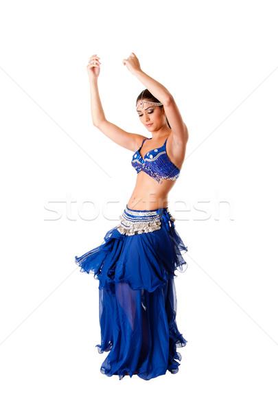 Beauty belly dancer Stock photo © phakimata