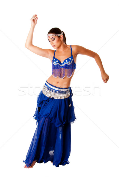Arabic belly dancer Stock photo © phakimata