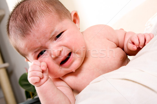 Crying baby Stock photo © phakimata