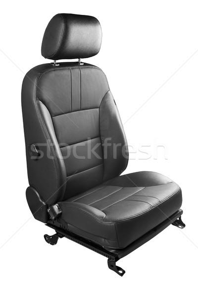 Autó ülés fehér új autó izolált modell Stock fotó © Phantom1311