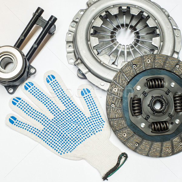 clutch kit and gloves for hands Stock photo © Phantom1311