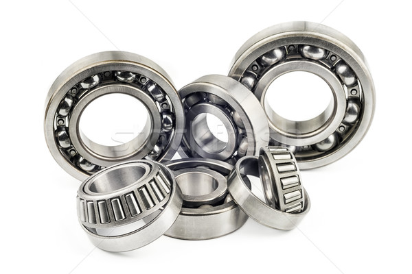 Stock photo: Bearings with shallow depth of field