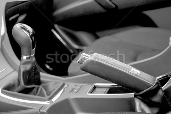 レバー 車 手 ブレーキ にログイン ストックフォト © Phantom1311