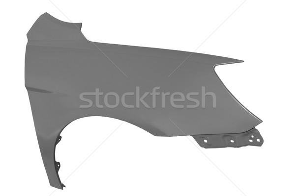 フェンダー 白 新しい 翼 車 孤立した ストックフォト © Phantom1311