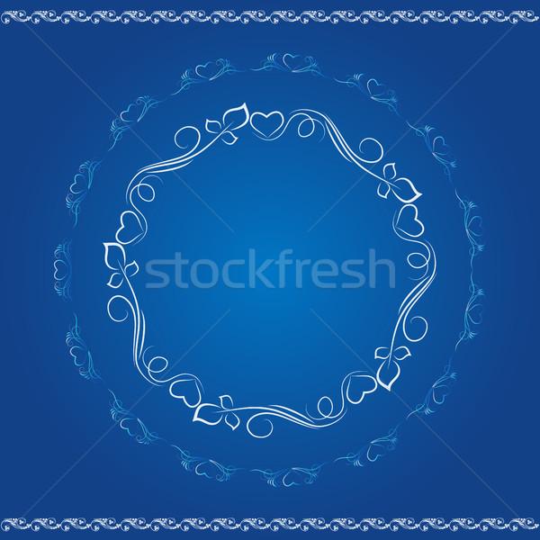 декоративный дизайна Элементы шаблон круга креативность Сток-фото © Phantom1311