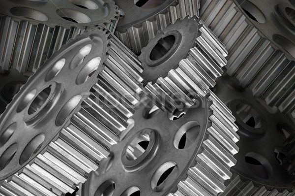 gears with low depth of field Stock photo © Phantom1311