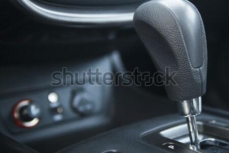 Auto versnelling vak versnellingsbak ondiep ontwerp Stockfoto © Phantom1311