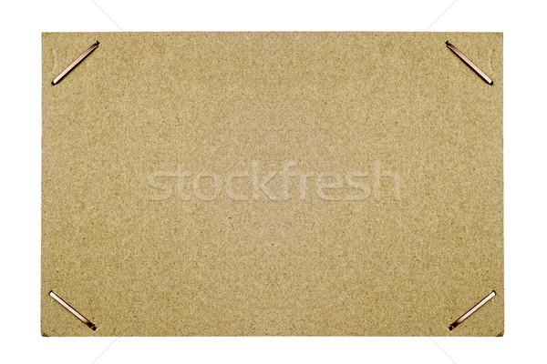 картона кадр белый прямоугольный изолированный дизайна Сток-фото © Phantom1311