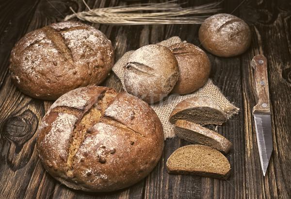 частей хлеб совета мелкий области Сток-фото © Phantom1311