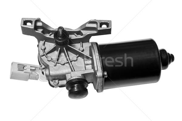 Сток-фото: автомобилей · Motor · изолированный · белый · электроэнергии · чистой