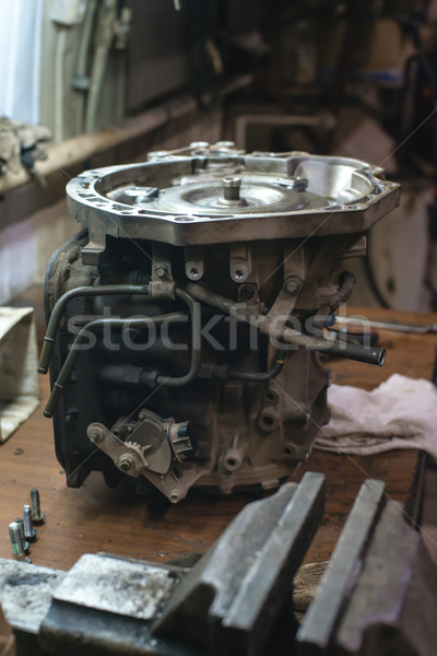old automatic car transmissions Stock photo © Phantom1311