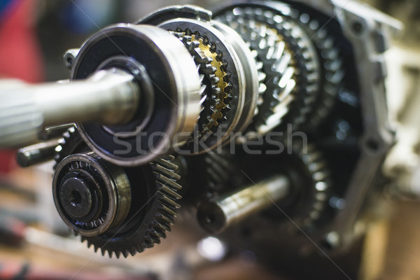 Transmission with shallow depth of field Stock photo © Phantom1311