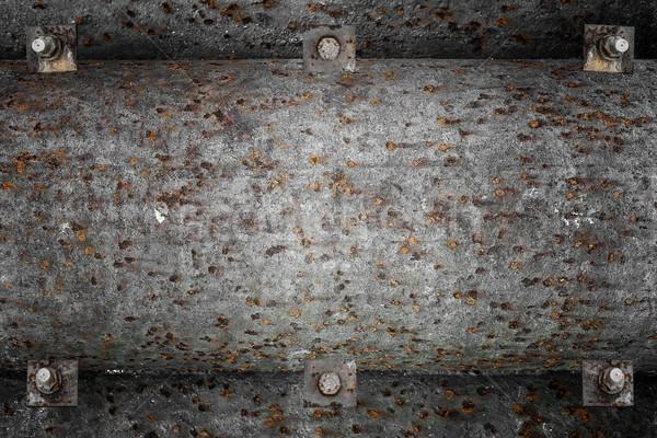 さびた 鉄 古い アタッチメント 建物 建設 ストックフォト © Phantom1311