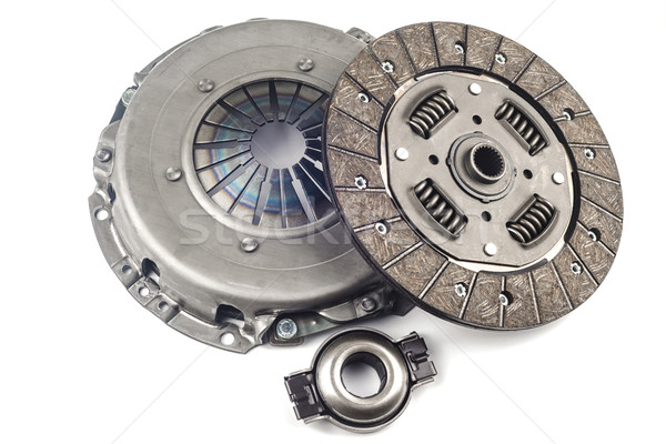 Clutch Kit with a bearing on a white background Stock photo © Phantom1311