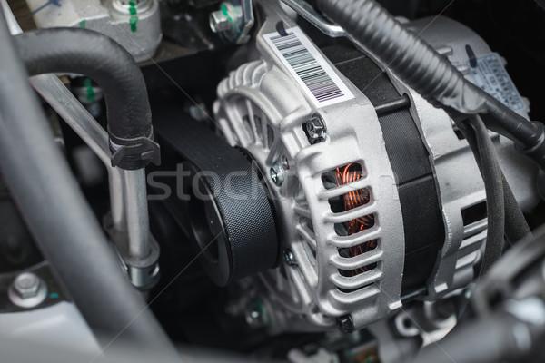 new electric car alternator Stock photo © Phantom1311