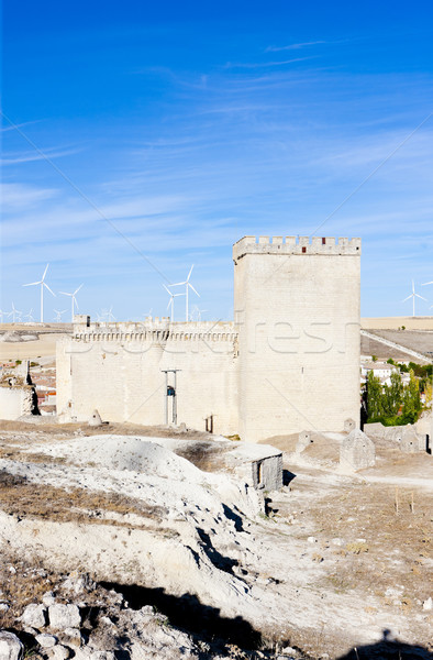 Ampudia, Castile and Leon, Spain Stock photo © phbcz