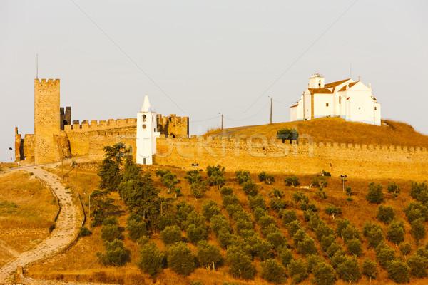 ストックフォト: 城 · ポルトガル · 建物 · 旅行 · アーキテクチャ · 歴史