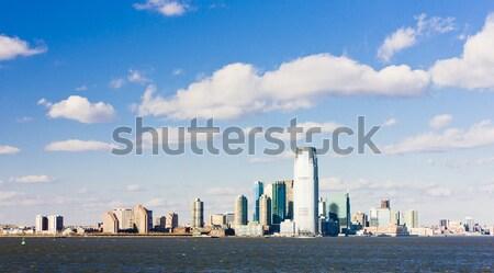 New Jersey USA gebouw stad wolkenkrabber stadsgezicht Stockfoto © phbcz