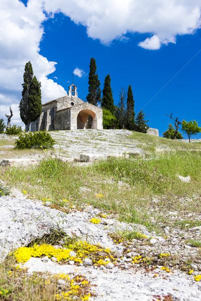 Kaplica Francja kościoła architektury Europie historii Zdjęcia stock © phbcz