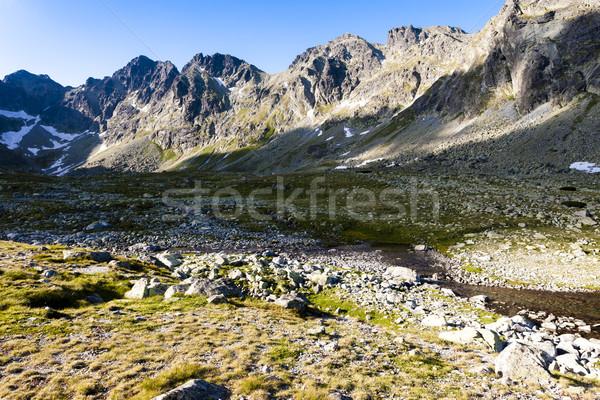 Mengusovska Valley, Vysoke Tatry (High Tatras), Slovakia Stock photo © phbcz