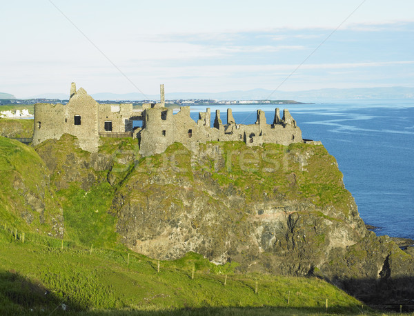 ruins of Dunluce Castle, County Antrim, Northern Ireland Stock photo © phbcz