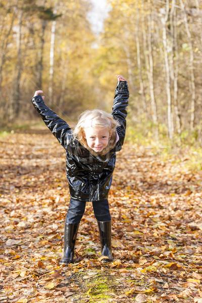 女の子 着用 自然 少女 ストックフォト © phbcz