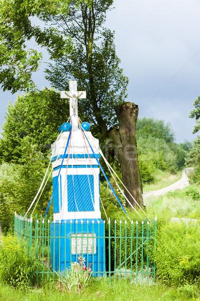 Kruis Polen Europa buitenshuis landelijk Stockfoto © phbcz