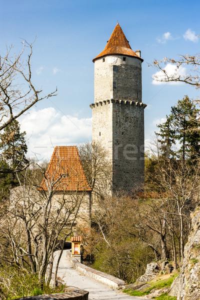 Kastély Csehország utazás építészet torony kint Stock fotó © phbcz