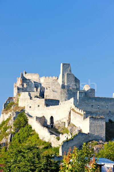 ruins of Beckov Castle, Slovakia Stock photo © phbcz