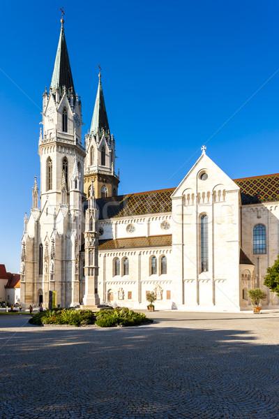Kolostor alsó Ausztria épület építészet gótikus Stock fotó © phbcz