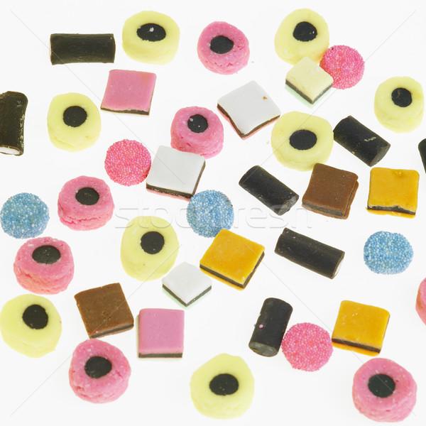 Liquirizia sfondo colori sfondi mangiare dolce Foto d'archivio © phbcz