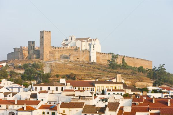 Portogallo costruzione viaggio castello architettura storia Foto d'archivio © phbcz
