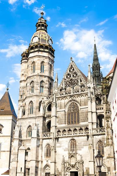 Cathedral of Saint Elizabeth, Kosice, Slovakia Stock photo © phbcz