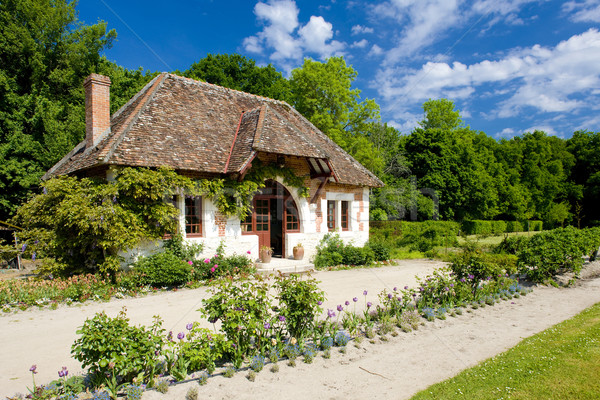 garden of Chateau du Moulin, Lassay-sur-Croisne, Centre, France Stock photo © phbcz