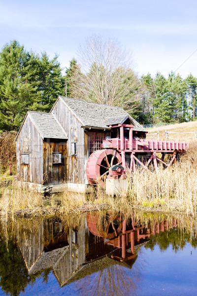 Moinho Vermont EUA edifício viajar arquitetura Foto stock © phbcz