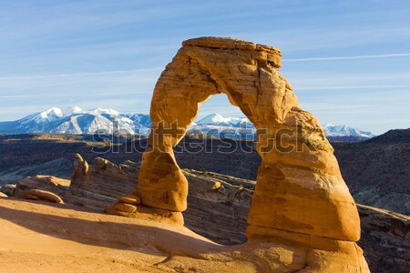 アーチ 公園 ユタ州 米国 風景 山 ストックフォト © phbcz