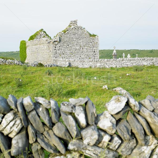 ören kilise İrlanda Bina mimari tarih Stok fotoğraf © phbcz