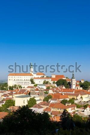 Csehország épület utazás építészet Európa történelem Stock fotó © phbcz